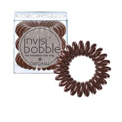 Invisibobble Original Pretzel Brown gumička do vlasů 3 ks