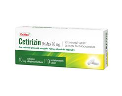 Dr.Max Cetirizin 10 mg 10 tablet
