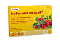 Dr.Max Cranberries & D-manose AKUT 10 tablet